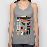 Supernatural Items Unisex Tank Top by Risa Rodil