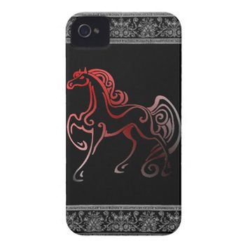 Horse Tails iPhone 4 Case-Mate Case