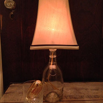 Whiskey Bottle Lamp