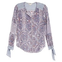 Rebecca Taylor: Paisley Button-Down Top