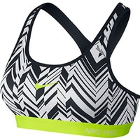 Nike Women's Pro Classic Padded Freeze Frame Sports Bra#708021-100