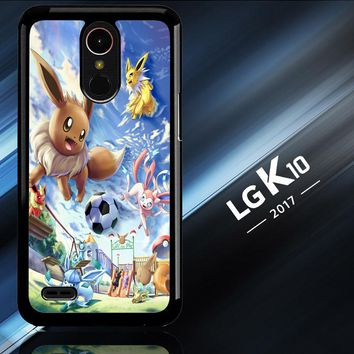 Eevee And Umbreon And Espeon X0915 LG K10 2017 | LG K20 Plus | LG Harmony  Case