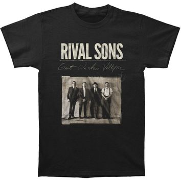 Rival Sons Men's  Great Western Valkyrie T-shirt Black