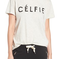 Sincerely Jules 'Célfie' Graphic Tee | Nordstrom