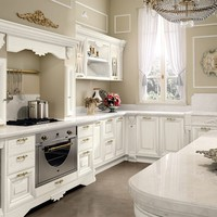 DECAPÉ KITCHEN WITH ISLAND PANTHEON | KITCHEN | CUCINE LUBE