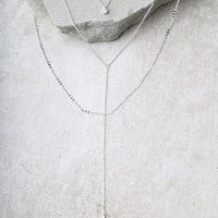 Photogenic Silver Layered Necklace