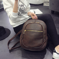 Casual Hot Deal Comfort Back To School On Sale College England Style Stylish Patchwork Backpack [6582315911]