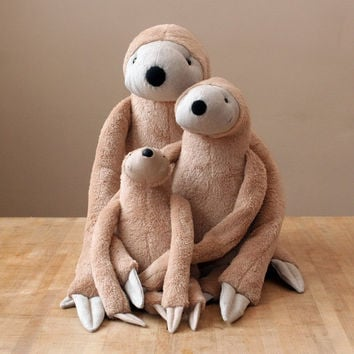 Big Sloth, stuffed animal toy for children