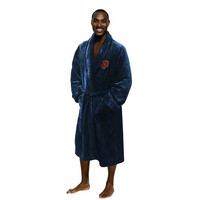 Chicago Bears NFL Men's Silk Touch Bath Robe (S/M)