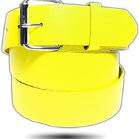 BELT ● Yellow Leather