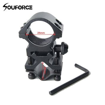 Quick Detach Durable 25mm Barrel Mount Ring of Hunting Accessories for Rifle Laser Sight Flashlight