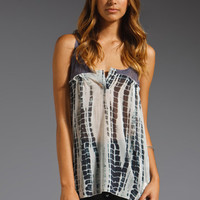 Free People Susquehanna Tank in Navy Combo from REVOLVEclothing.com