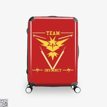 Go Team Instinct, Pokemon Suitcase