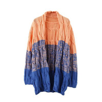 Women's Fashion Twisted Sweater Long Sleeve Jacket [9609238415]