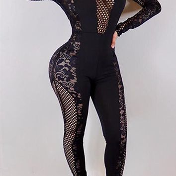 Black Stallion Jumpsuit One Piece