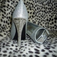 Wedding Heels Custom Order- With Superior Crystals Glamorous Classy......