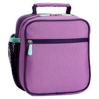 Gear-Up Light Purple Colorblock Classic Lunch With Mesh Side Pocket