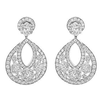 Van Cleef & Arpels Snowflake Earrings, Large Model, VCARO3RL00