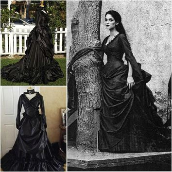 Victorian Gothic/Civil War Southern Belle Gown