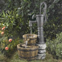 Fountain Cellar Old Fashion Water Pump Water Fountain