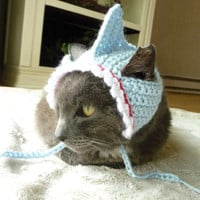 Shark Costume for Cats and Dogs Shark Hat for Cats and Dogs Shark Pet Halloween Costume Cat Hat Dog Hats for Dogs Cat Costume Dog Costume