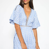 Eugene Playsuit - Blue
