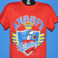 90s Snoopy Aviation Co Red Baron t-shirt Large