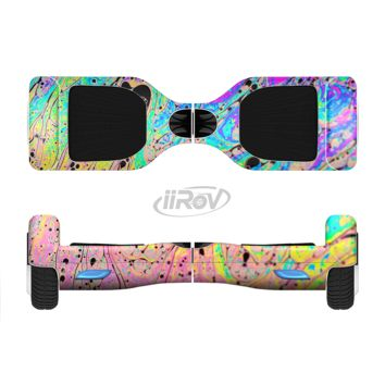 The Neon Color Fushion with Black splatters Full Body Skin Set for the Smart Drifting SuperCharged Transportation iiRov