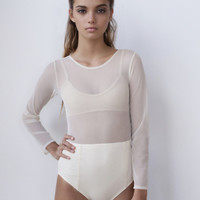 Trouvère Long Sleeve Bodysuit
