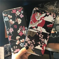Luxury Cartoon Case With Kickstand For iPhone 7 Shockproof TPU Silicone Hard Case For iPhone 6 6S Plus Mobile Phone Shell Cover