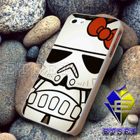 Hello Kitty Stormtrooper For iPhone Case Samsung Galaxy Case Ipad Case Ipod Case