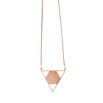 Lisa Necklace - Rose Gold