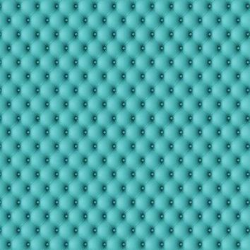 Aqua Tufted Vinyl Backdrop - 6x8 - LCCR514- LAST CALL