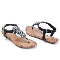 Women's Embellished thong sandal
