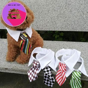 Adjustable Dog Cat Bow Tie Lovely Adorable Sweetie Grooming Tie Necktie Wear Pet Products Supplies Chihuahua roupa para 40DF1
