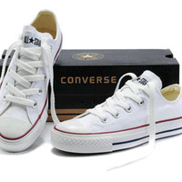 """""""Converse"""" All-match Fashion Casual Male Female Classic Style Cloth Shoes Plate Shoes"""