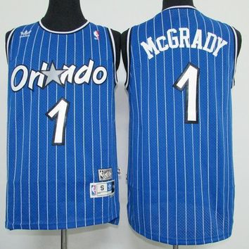 Classic NBA Basketball Jerseys Orlando Magic #1 Tracy McGrady