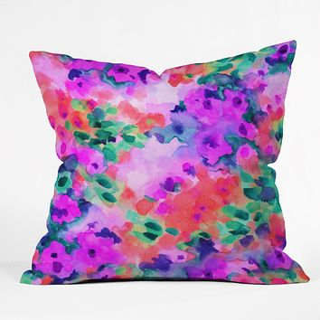 Jacqueline Maldonado Flourish 02 Throw Pillow