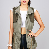 Stationed Anorak Vest | Trendy Vests at Pink Ice.