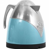 Blue Volkswagen Campervan Kettle
