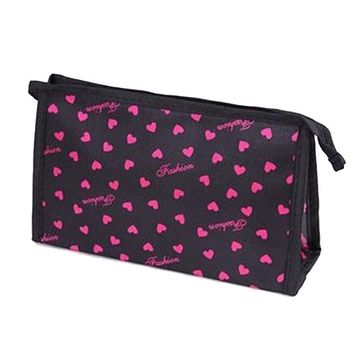 Travel Cosmetic Bag Cute Dots Pattern Multi-Function Cosmetic Bag Bag For Toiletries Rangement Maquillage