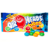 AirHeads Bites Candy Packs - Fruit: 24-Piece Box