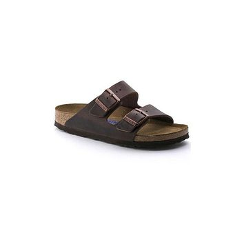 Arizona Habana  Oiled Leather Birkenstocks