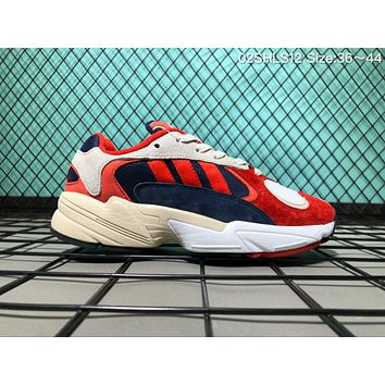 hcxx A071 Adidas Originals Yung 1 Yeezy 700 Wave Runner Causal Running Shoes Sneaker Grey White Red