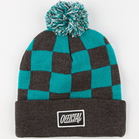 Official Monoke Pom Beanie Black/Blue One Size For Men 24620418401