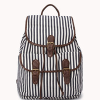 Railroad Striped Backpack