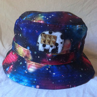 Multicolored Galaxy Bucket Hat