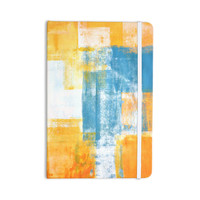 "CarolLynn Tice ""Color Combo"" Blue Yellow Everything Notebook"