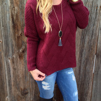 Cider Lane Sweater - FINAL SALE