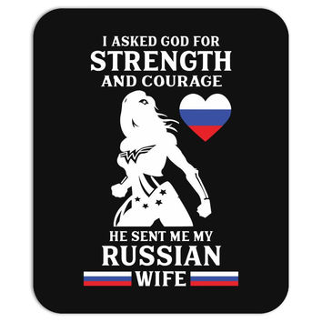 russian wife Mousepad